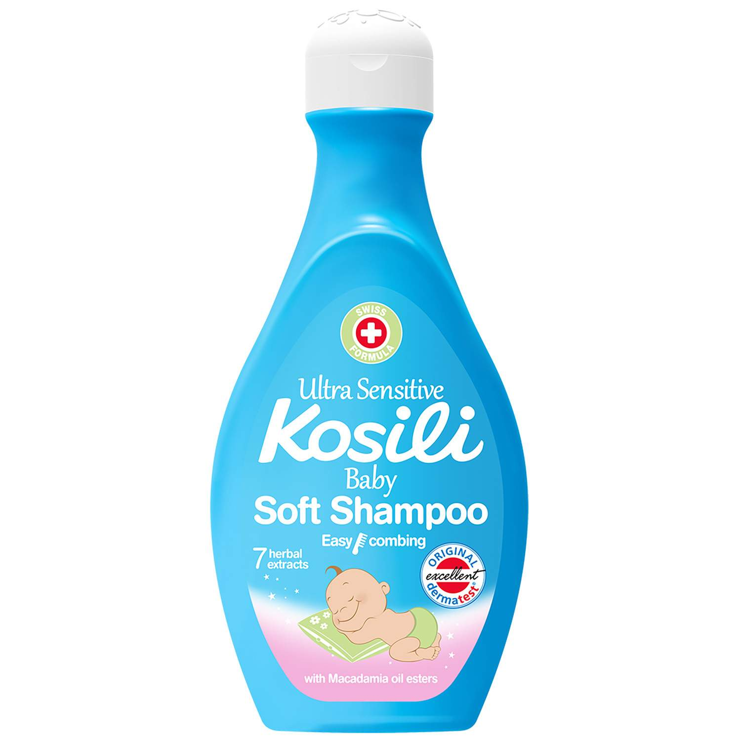 Kosili sensitive bebi šampon 500ml  55db9fa577